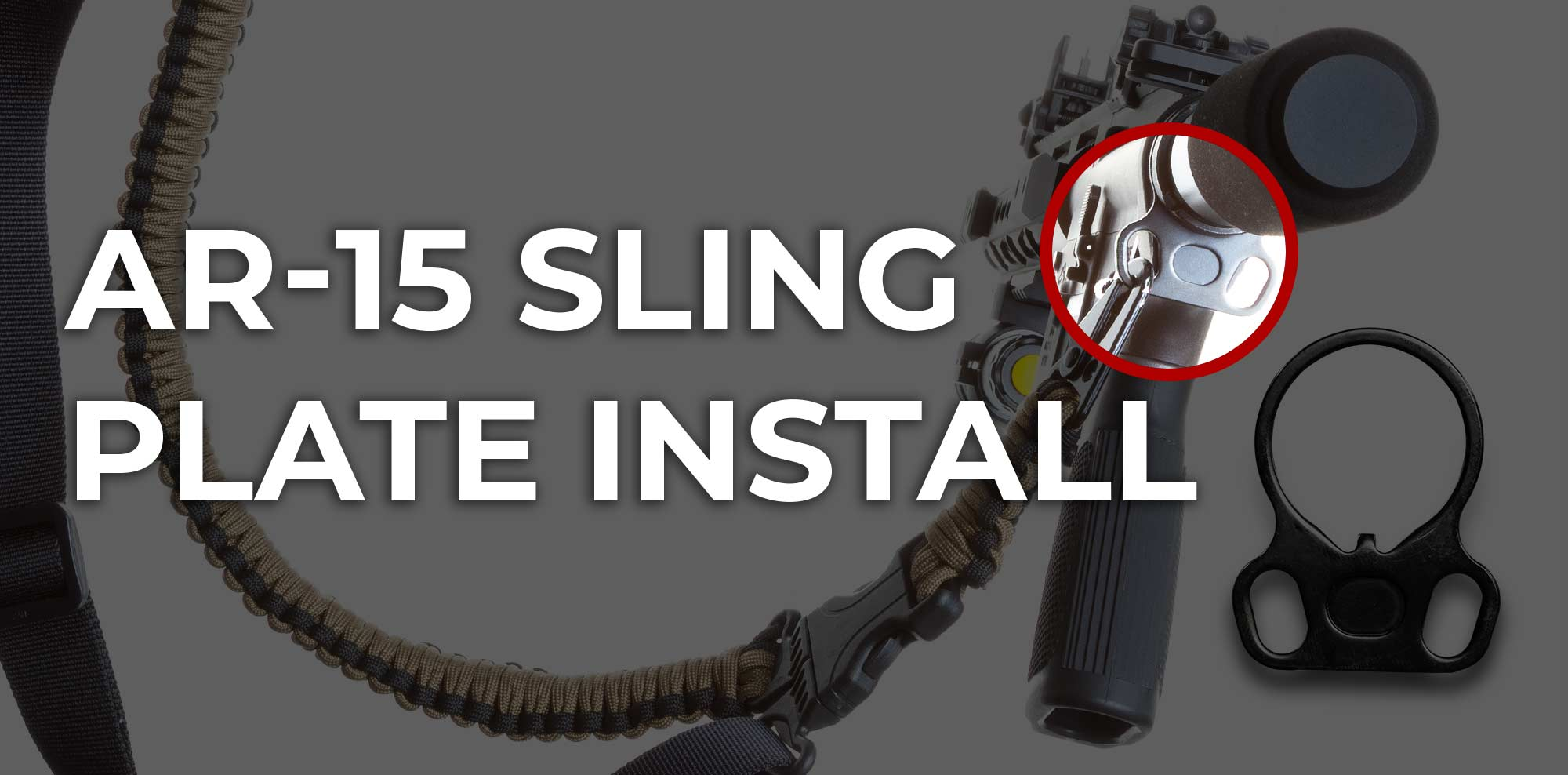 How to Install AR-15 Sling Adapter In 5 Minutes (VIDEO)