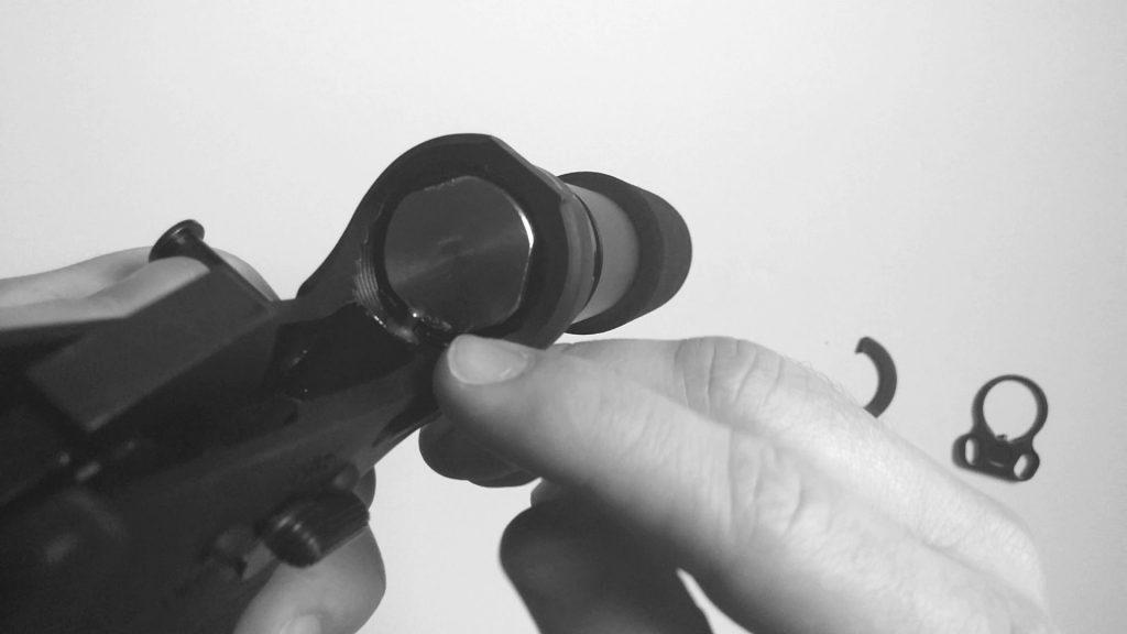Buffer Detent Install Single Point Sling