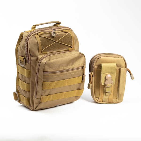 Tactical Camo Bugout Bag EDC-13