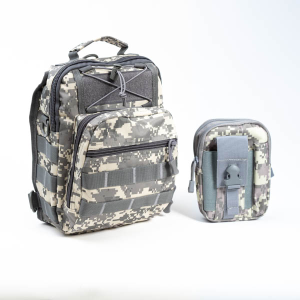 Tactical Camo Bugout Bag EDC-14