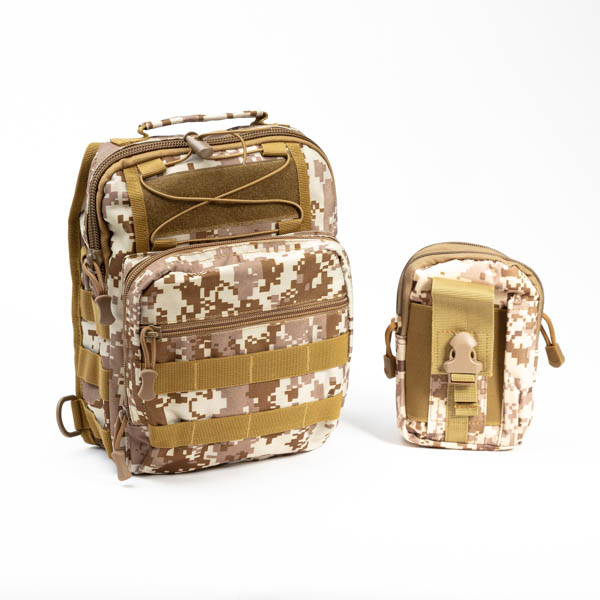 Tactical Camo Bugout Bag EDC-15