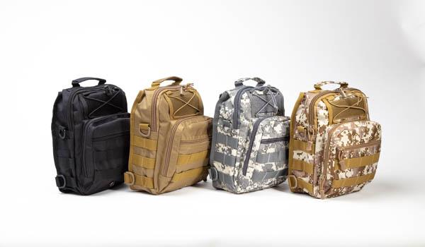 Tactical Camo Bugout Bag EDC-5